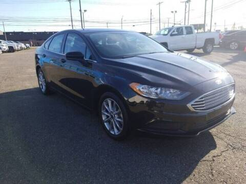 2017 Ford Fusion for sale at AMC Auto in Roseville MI