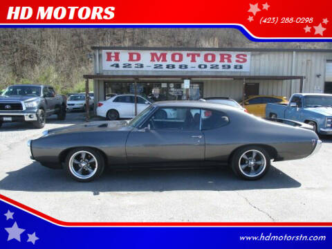 1969 Pontiac Le Mans for sale at HD MOTORS in Kingsport TN