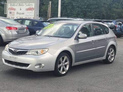 2008 Subaru Impreza for sale at United Auto Service in Leominster MA