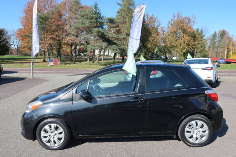 2012 Toyota Yaris for sale at GEG Automotive in Gilbertsville PA
