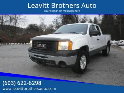 2009 GMC Sierra 1500 for sale at Leavitt Brothers Auto in Hooksett NH