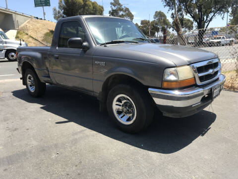 1998 Ford Ranger for sale at Beyer Enterprise in San Ysidro CA
