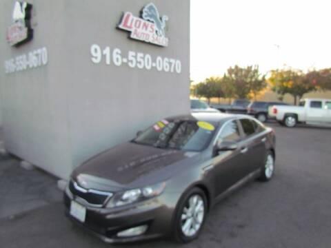 2011 Kia Optima for sale at LIONS AUTO SALES in Sacramento CA