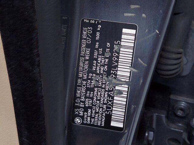 2003 BMW X5 AWD 3.0i 4dr SUV - Essington PA