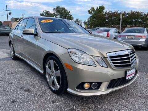 2010 Mercedes-Benz E-Class for sale at Alpina Imports in Essex MD