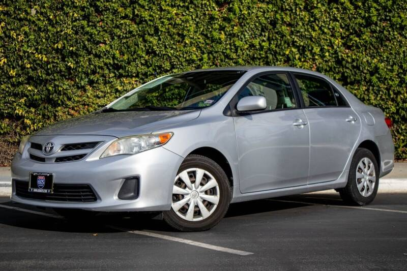 2011 Toyota Corolla for sale at 605 Auto  Inc. in Bellflower CA