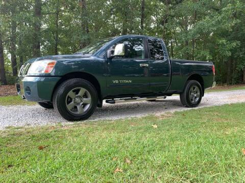 2005 Nissan Titan for sale at Madden Motors LLC in Iva SC