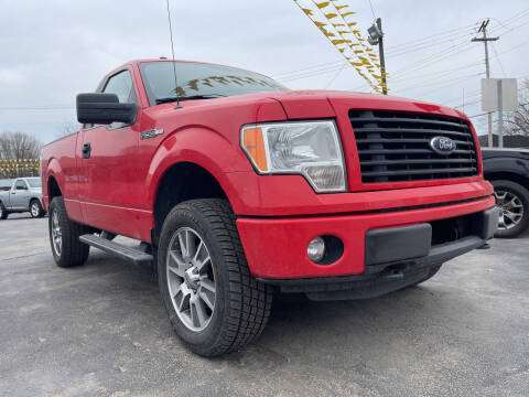2014 Ford F-150 for sale at Auto Exchange in The Plains OH