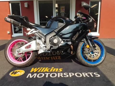 2014 Honda CBR600RR for sale at WILKINS MOTORSPORTS in Brewster NY