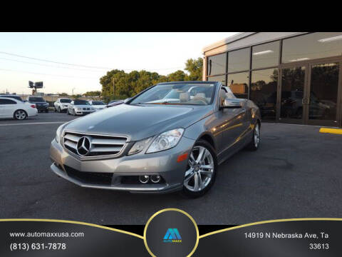 2011 Mercedes-Benz E-Class for sale at Automaxx in Tampa FL