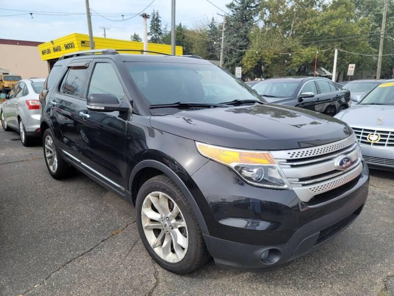 2014 Ford Explorer for sale at J & J Used Cars inc in Wayne MI