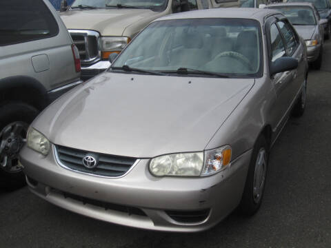 2001 Toyota Corolla for sale at All About Cars in Marysville WA