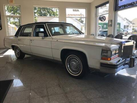 1988 Cadillac Brougham for sale at Moschetto Bros. Inc in Methuen MA