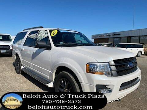 2017 Ford Expedition EL for sale at BELOIT AUTO & TRUCK PLAZA INC in Beloit KS