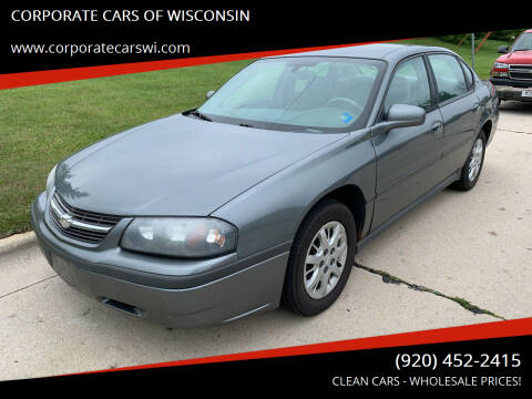 2005 Chevrolet Impala for sale at CORPORATE CARS OF WISCONSIN - DAVES AUTO SALES OF SHEBOYGAN in Sheboygan WI