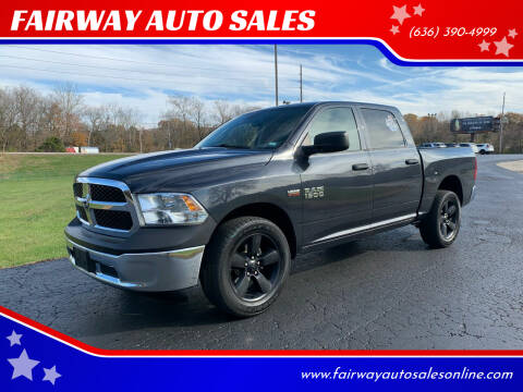 2016 RAM Ram Pickup 1500 for sale at FAIRWAY AUTO SALES in Washington MO