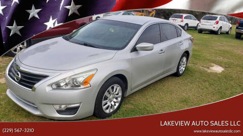 2014 Nissan Altima for sale at Lakeview Auto Sales LLC in Sycamore GA