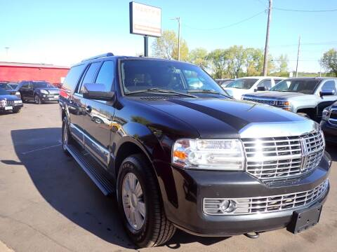 2011 Lincoln Navigator L for sale at Marty's Auto Sales in Savage MN