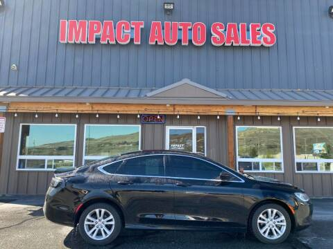 2015 Chrysler 200 for sale at Impact Auto Sales in Wenatchee WA