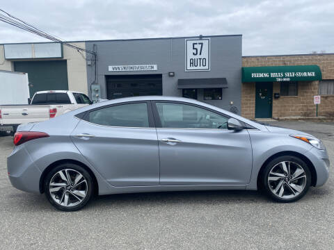 2016 Hyundai Elantra for sale at 57 AUTO in Feeding Hills MA