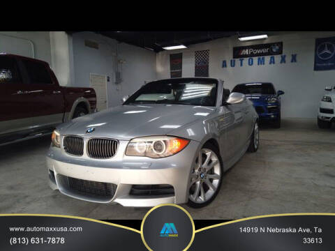 2012 BMW 1 Series for sale at Automaxx in Tampa FL