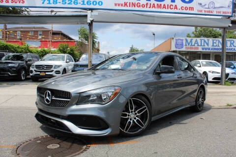 2017 Mercedes-Benz CLA for sale at MIKEY AUTO INC in Hollis NY