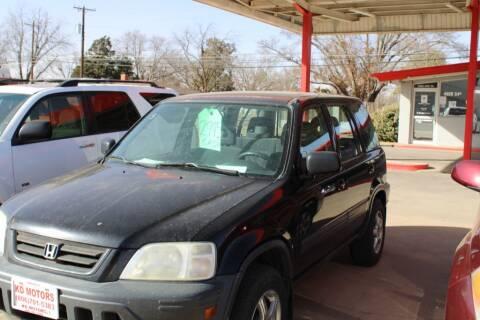 1999 Honda CR-V for sale at KD Motors in Lubbock TX