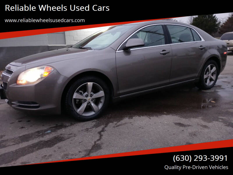 2011 Chevrolet Malibu for sale at Reliable Wheels Used Cars in West Chicago IL
