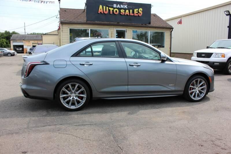 2020 Cadillac CT4 for sale at BANK AUTO SALES in Wayne MI
