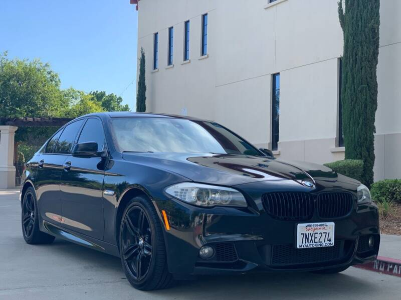 2012 BMW 5 Series for sale at Auto King in Roseville CA
