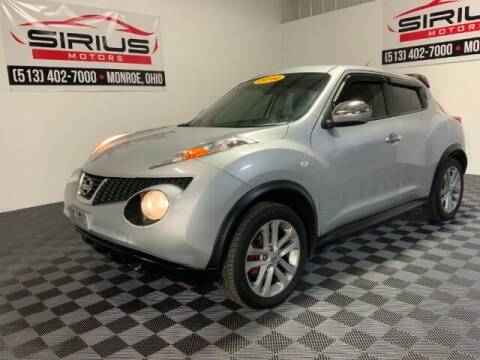 2014 Nissan JUKE for sale at SIRIUS MOTORS INC in Monroe OH