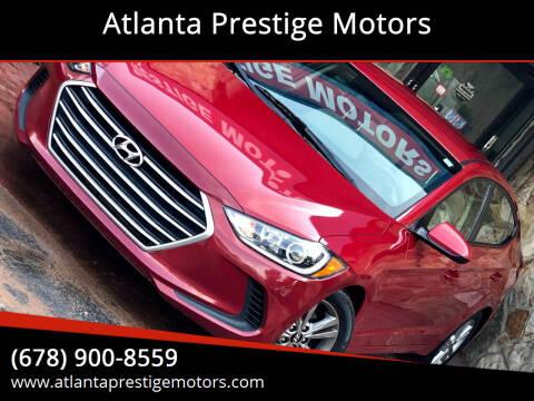 2017 Hyundai Elantra for sale at Atlanta Prestige Motors in Decatur GA