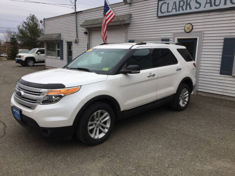 2013 Ford Explorer for sale at CLARKS AUTO SALES INC in Houlton ME