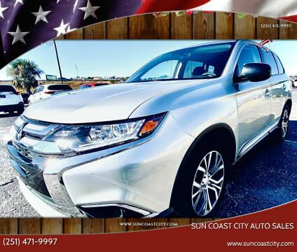 2018 Mitsubishi Outlander for sale at Sun Coast City Auto Sales in Mobile AL