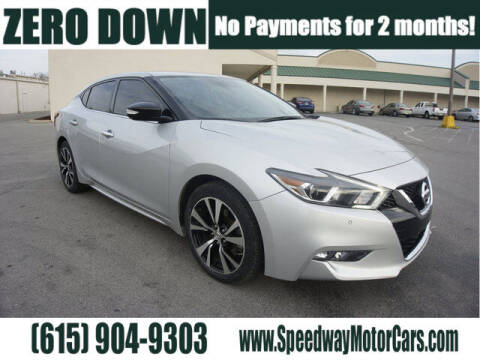 2018 Nissan Maxima for sale at Speedway Motors in Murfreesboro TN