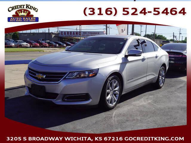 2016 Chevrolet Impala for sale at Credit King Auto Sales in Wichita KS