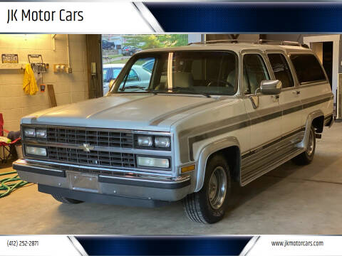 1989 Chevrolet Suburban for sale at JK Motor Cars in Pittsburgh PA