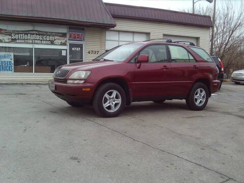 1999 Lexus RX 300 for sale at Settle Auto Sales STATE RD. in Fort Wayne IN