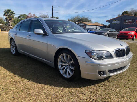 2007 BMW 7 Series for sale at Unique Motor Sport Sales in Kissimmee FL