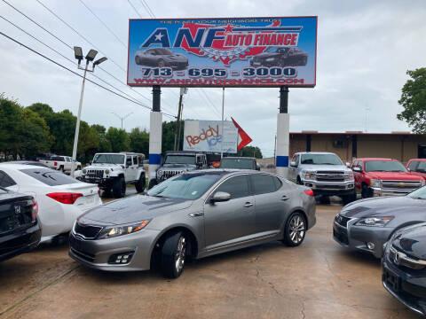 2015 Kia Optima for sale at ANF AUTO FINANCE in Houston TX