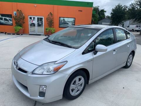 2011 Toyota Prius for sale at Galaxy Auto Service, Inc. in Orlando FL