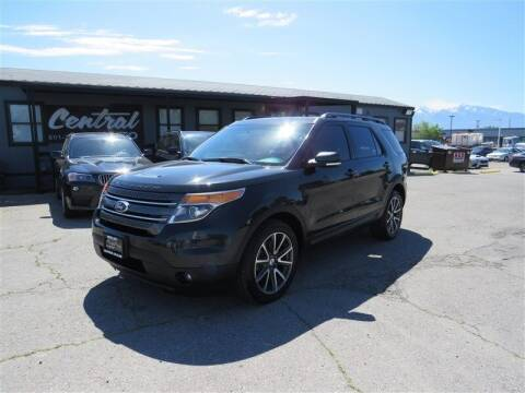 2015 Ford Explorer for sale at Central Auto in South Salt Lake UT