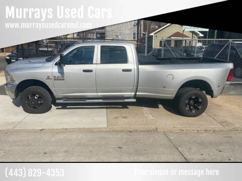 2018 RAM Ram Pickup 3500 for sale at Murrays Used Cars in Baltimore MD