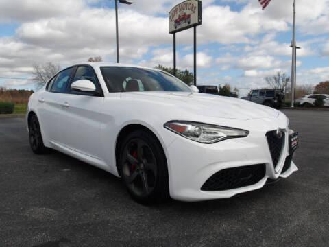 2018 Alfa Romeo Giulia for sale at TAPP MOTORS INC in Owensboro KY