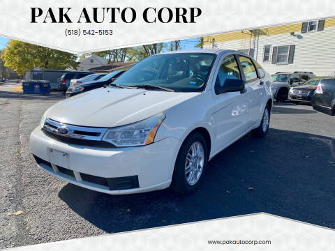2010 Ford Focus for sale at Pak Auto Corp in Schenectady NY