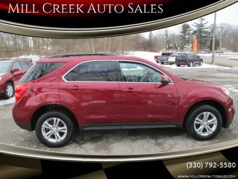 2011 Chevrolet Equinox for sale at Mill Creek Auto Sales in Youngstown OH