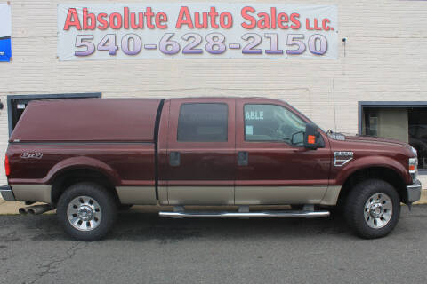 2009 Ford F-250 Super Duty for sale at Absolute Auto Sales in Fredericksburg VA