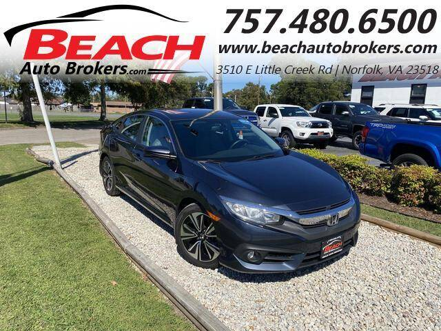 2017 Honda Civic for sale at Beach Auto Brokers in Norfolk VA