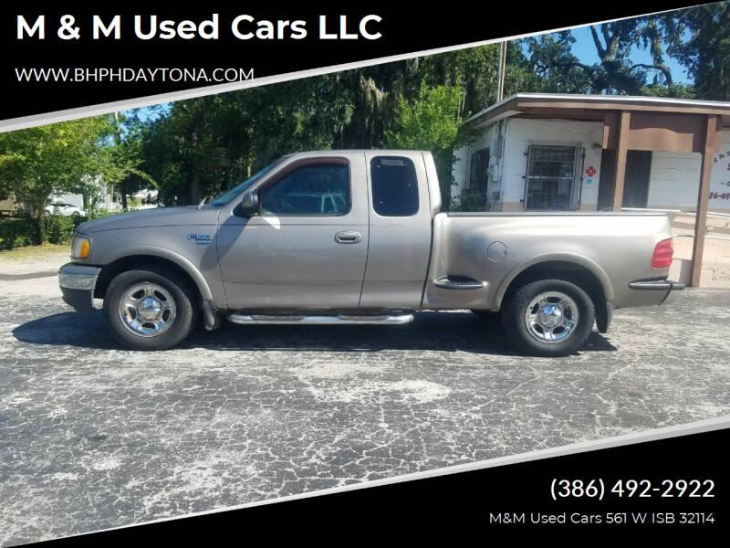2001 Ford F-150 for sale at M & M Used Cars LLC in Daytona Beach FL