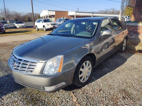2007 Cadillac DTS for sale at Ray Moore Auto Sales in Graham NC